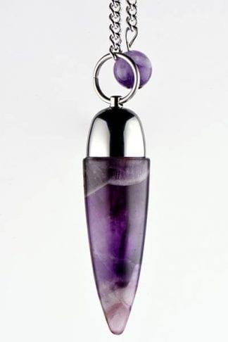 amethyst-pendulum