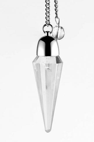 faceted-clear-quartz-pendulum